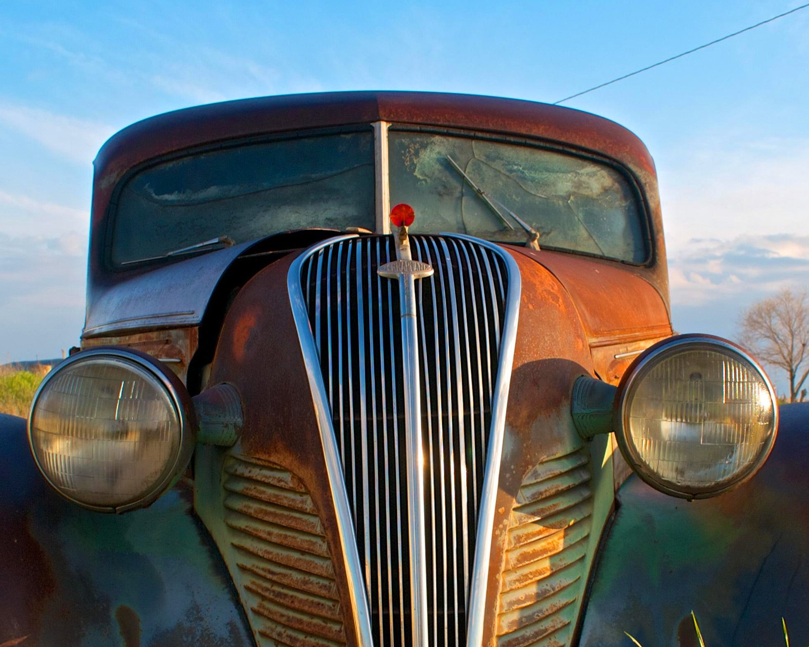 route-66-antique-car